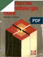 Introduccion a La Metalurgia Fisica Autor Sydney Avner