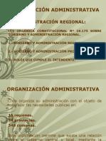 Clase 12 Administración Regional