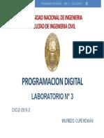 Laboratorio03 CB412 2015-2