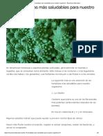 Las 10 Hortalizas Más Saludables Para Nuestro Organismo - Barcelona Alternativa