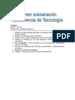 Examen Sustitutorio I-2010