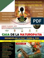 Inauguracion Casa de La Naturopatia Redmexplam Puebla