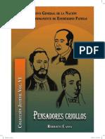Vol 6. Pensadores Criollos Roberto Cassá Colección Juvenil