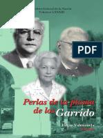 Vol 83. Perlas de La Pluma de Los Garrido.
