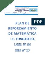tungasuca-PLAN DE REFORZAMIENTO DE MATEMÁTICA 2016.docx