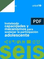 UNICEF 06 InstalandoCapacidadesyMecanismosparaSostenerlaParticipacionAdolescente