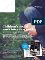 Sanctuary Social Care Interview Guide Children