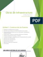 Obras de Infraestructura Clase 1 - UNAB