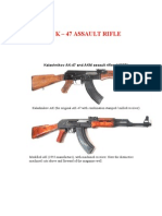 Ak 47 Technical Manual