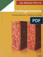 Jon Beasley-Murray-Poshegemonia-Teoria Politica y America Latina