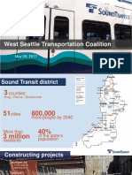 WSTC presentation in May by Sound Transit