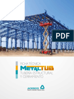 Metaltub Ficha Tecnica