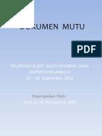 Dokumen Mutu (Prof. Wuryanti)-1