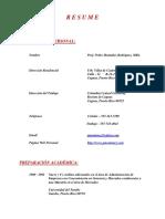 resumen actualizado - pedro montanez rodriguez -  18 de junio del 2017