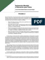 Declaración Mundial EPT