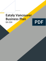 Etaly Vancouver Business Plan V3