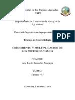 Crecimiento y Desinfección Micro