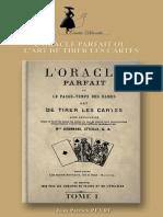 Mlle Lenormand - L_27oracle Parfait (Tome1)