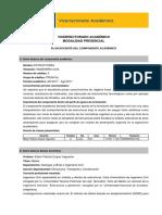 Plan Académico Estructuras
