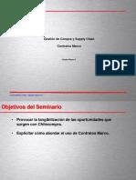 Modelos de Compra y Supply Chain Management