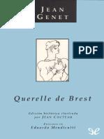 Querelle de Brest - Jean Genet