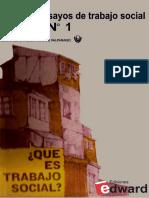 Qué Es Trabajo Social- Eloisa Pizarro, María Edith Jofré, Vicente de Paula Faleiros, Diego Palma