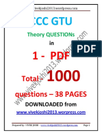 Ccc Gtu 1000 Question
