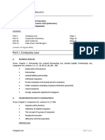 FPE Corporate Practice (2014 Indicative)