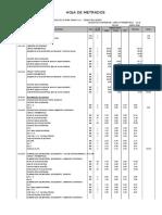 Metrado Estructuras - Obras Exteriores Rio Negro 01-07-06