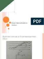 Electro Statics (1)