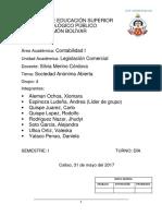 SOCIEDAD ANONIMA ABIERTA