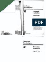 Valles Cuadernos Metodologicos 2 Entrevistas Cualitativas