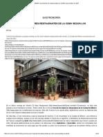 YUMMMIE_ Recomienda 10 Restaurantes en CDMX Para Probar en Abril