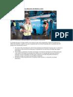 Características en El Proceso de Producción