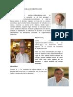 Mayores Exponentes de La Cocinda Francesa