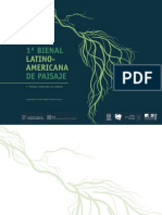 1era Bienal Latinoamericana de Paisaje