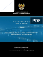 Perda No. 6 Tahun 2014 Ttg RPJMD Kota Pontianak 2015-2019