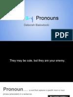 fuzzy pronouns
