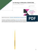 Forumias.com-UPSC Mains Optional Strategy-2 ENGLISH LITERATURE
