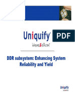 Case Studies of DDR Subsystem Integration