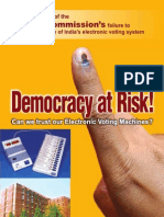 Book Democracy at Risk 2010