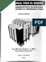 Manual Para El Diseno Por Sismo Etabs Primera Edicion