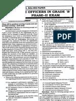 rbi grade b officer exam 19 9 16