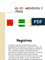 UNIDAD VI Archivos y Registros.pptx