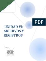 UNIDAD VI Archivos y Registros.docx