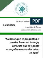 3. Estadística de Posición y Localización