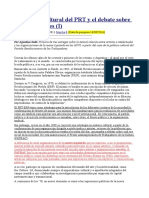 FATRAC - La Política Cultural Del PRT y El Debate Sobre Los Intelectuales (I-II-III)