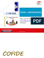 COFIDE - ARRENDADORAS