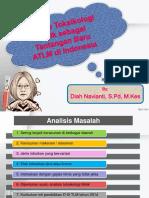 Analisis Toksikologi Klinik Sebagai Tantangan Baru TLM Indonesia