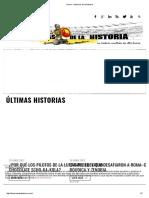 Home - Historias de La Historia
